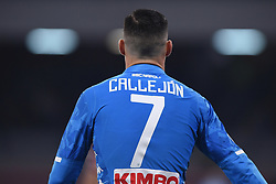 February 17, 2019 - Naples, Naples, Italy - Jose Callejon of SSC Napoli during the Serie A TIM match between SSC Napoli and FC Torino at Stadio San Paolo Naples Italy on 17 February 2019. (Credit Image: © Franco Romano/NurPhoto via ZUMA Press)