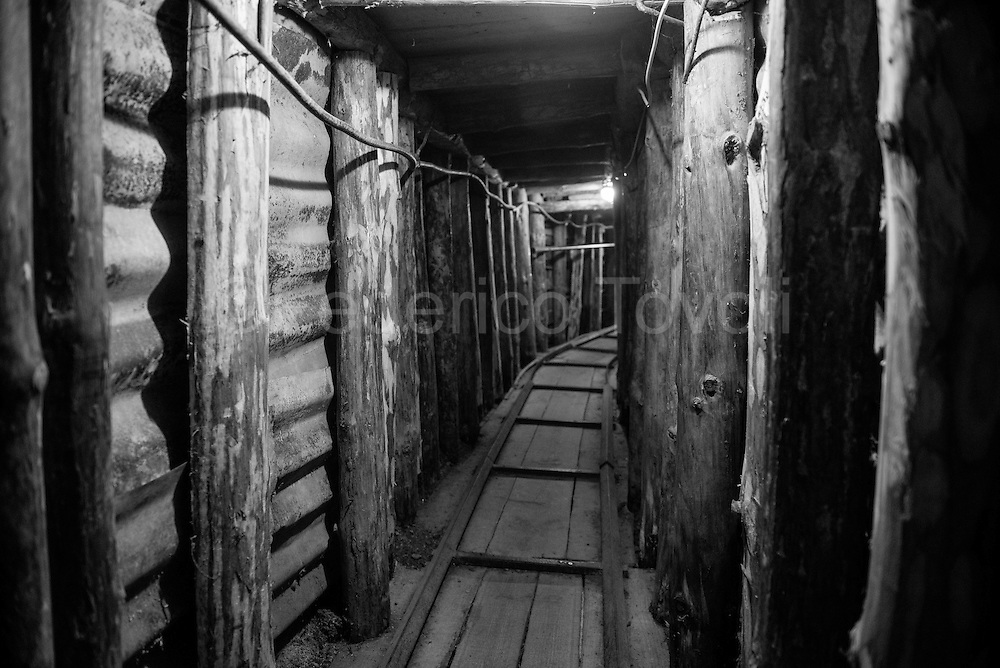 The eight hundred meters of tunnels that allowed communications with the outside world during the siege,<br /> two hundred were kept and made historical museum