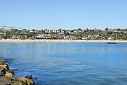 Corona Del Mar State Beach and Ocean View Homes