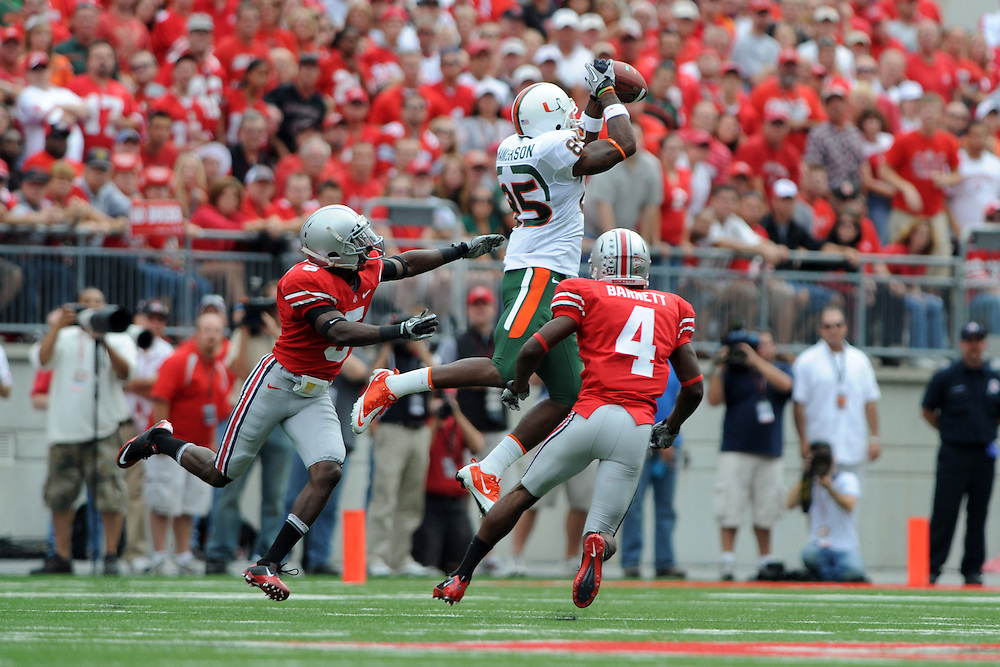 2010 Miami Hurricanes Football @ Ohio State