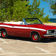 1969 Barracuda Convertible on pavement