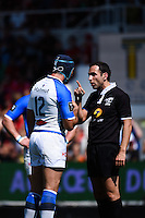 Romain Cabannes / Mathieu Raynal - 09.05.2015 - Toulon / Castres - 24eme journee de Top 14 <br /> Photo : Alexandre Dimou / Icon Sport