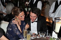 OTIS FERRY and FRANCESCA CUMANI at a dinner and dance hosted by Leon Max for the charity Too Many Women in support of Breakthrough Breast Cancer held at Claridges, Brook Street, London on 1st December 2011.