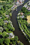 Nederland, Utrecht, Gemeente Abcoude, 25-05-2010; Vecht bij Nieuwersluis.luchtfoto (toeslag), aerial photo (additional fee required).foto/photo Siebe Swart