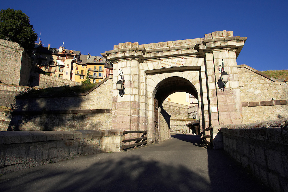 Ville Vauban Briancon France. World Heritage sight