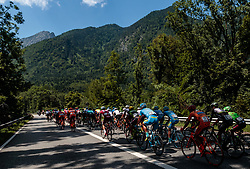 06.07.2017, Kitzbühel, AUT, Ö-Tour, Österreich Radrundfahrt 2017, 4. Etappe von Salzburg - Kitzbüheler Horn (82,7 km/BAK), im Bild Feature, Peloton // Feature, Peloton during the 4th stage from Salzburg - Kitzbueheler Horn (82,7 km/BAK) of 2017 Tour of Austria. Kitzbühel, Austria on 2017/07/06. EXPA Pictures © 2017, PhotoCredit: EXPA/ JFK