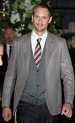 February 18, 2019 - London, United Kingdom - Alexander SkarsgÃ¥rd at The Aftermath World Premiere at the Picturehouse Central, Shaftesbury Avenue and Great Windmill Street. (Credit Image: © Keith Mayhew/SOPA Images via ZUMA Wire)