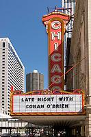 Chicago Theatre Marquee, Chicago, Illinois