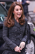 The Duchess of Cambridge visits Mercers Hall London