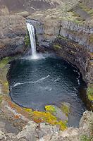 198-foot Palouse Falls in Palouse Falls State Park, Washington.