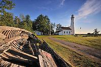 Sturgeon Point on Lake Huron<br /> Alcona County, Michigan