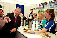 Taoiseach Enda Kenny at Fine Gael Stand at The National Ploughing Championships 2014.