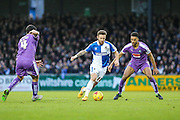 Bristol Rovers Matt Taylor on the ball during the Sky Bet League 2 match between Bristol Rovers and Plymouth Argyle at the Memorial Stadium, Bristol, England on 23 January 2016. Photo by Shane Healey.