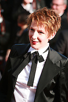 Natacha Polony at Sils Maria gala screening red carpet at the 67th Cannes Film Festival France. Friday 23rd May 2014 in Cannes Film Festival, France.