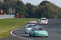 #78 S Oakes / M Oakes Honda Civic Vtec 1600 during the CSCC Tin Tops at Oulton Park, Little Budworth, Cheshire, United Kingdom. October 15 2016. World Copyright Peter Taylor/PSP. <br /> Copy of publication required for printed pictures.  Every used picture is fee-liable. http://archive.petertaylor-photographic.co.uk
