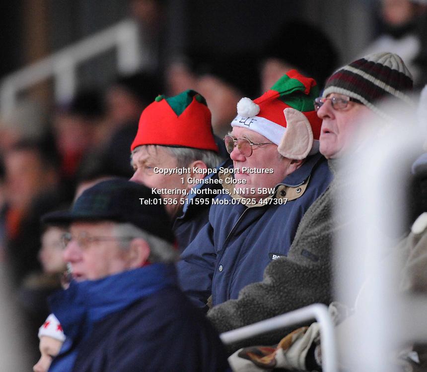 Kettering Town v Bath City, Blue Square Premier, Nene Park, Saturday 17th December 2011