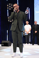 Sam Smith accepts his award during the O2 Silver Clef Awards 2019, Grosvenor House, London, UK, Friday 05 July 2019<br /> Photo JM Enternational