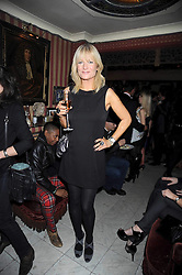GABY ROSLYN at a party to celebrate the launch of Atelier-Mayer.com held at 83 Princedale Road, London W11 on 15th January 2009.