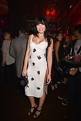 Daisy Lowe at the Maybelline New York Bring on The Night party hosted by Adriana Lima & Jourdan Dunn at Scotch of St.James, 13 Masons Yard, England. 18 February 2017.
