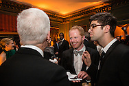 Actor Jesse Tyler Ferguson, center, attends the Bloomberg Vanity Fair White House Correspondents' Association dinner afterparty at the residence of the French Ambassador on Saturday, April 28, 2012 in Washington, DC. Brendan Hoffman for the New York Times