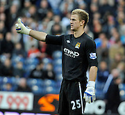 Joe Hart (Manchester City). The Hawthorns West Browmich Albion v Manchester City (0-2) Premier  League.