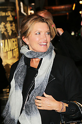 Tina Hobley, Strangers On A Train - press night, Gielgud Theatre, London UK, 19 November 2013, Photo by Richard Goldschmidt © Licensed to London News Pictures. {date} Photo credit : Richard Goldschmidt/Piqtured/LNP