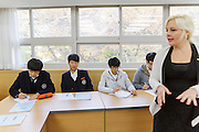 Nicki Gerstner is teaching English at the Shinil High School, Seoul, South Korea.
