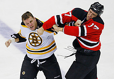 December 23, 2008: Boston Bruins at New Jersey Devils