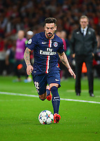 Ezequiel LAVEZZI - 15.04.2015 - Paris Saint Germain / Barcelone - 1/4Finale Aller Champions League<br />