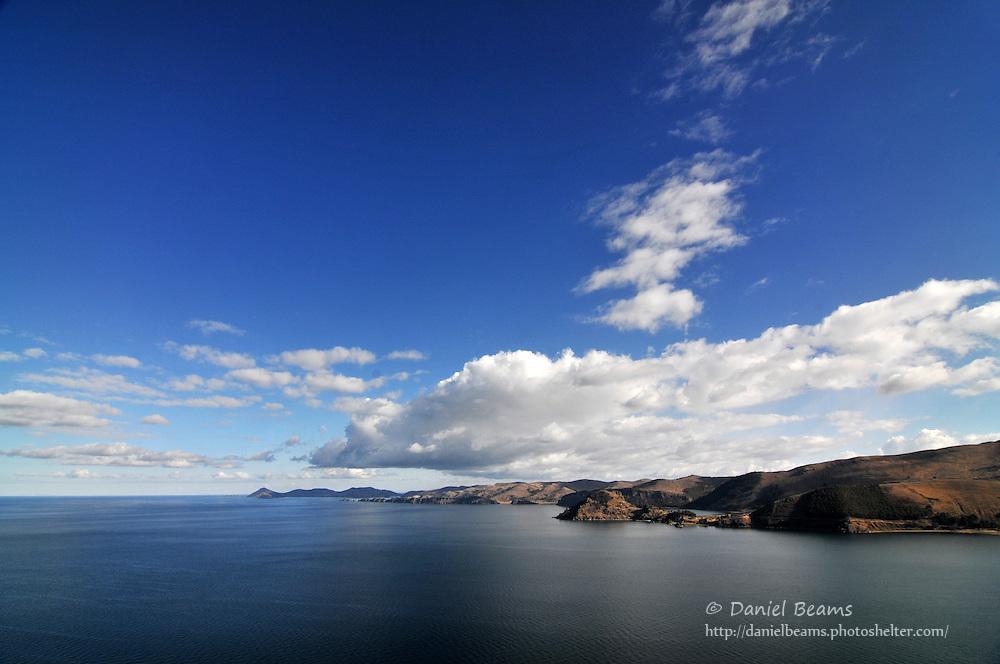 Lago Titicaca from Copacabana, Bolivia