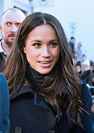 01.12.2017; Nottingham, England: PRINCE HARRY AND MEGHAN MARKLE <br />