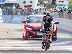 26.05.2017, Piancavallo, ITA, Giro d Italia 2017, 19. Etappe, Innichen (San Candido) nach Piancavallo, im Bild Patrick Konrad (AUT, Team Bora - Hansgrohe) // during the 19 th stage of the 100 th Giro d Italia cycling race from Innichen (San Candido) to Piancavallo, Italy on 2017/05/26. EXPA Pictures © 2017, PhotoCredit: EXPA / Martin Huber