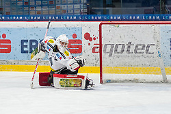 12.01.2018, Ice Rink, Znojmo, CZE, EBEL, HC Orli Znojmo vs Dornbirn Bulldogs, 39. Runde, im Bild Juha Rasmus Rinne (Dornbirn Bulldogs) // during the Erste Bank Icehockey League 39th round match between HC Orli Znojmo and Dornbirn Bulldogs at the Ice Rink in Znojmo, Czech Republic on 2018/01/12. EXPA Pictures © 2018, PhotoCredit: EXPA/ Rostislav Pfeffer
