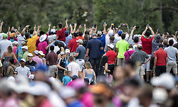 May 13, 2018 - Ponte Vedra Beach, FL, USA - The Players Championship 2018 at TPC Sawgrass..Gallery sees Tiger Woods on #1 tee (Credit Image: © Bill Frakes via ZUMA Wire)
