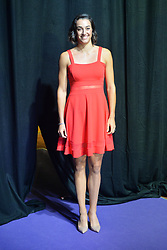 SINGAPORE, Oct. 20, 2017  France's Caroline Garcia poses for a photo during the WTA Finals official draw ceremony held in Singapore on Oct. 20, 2017. (Credit Image: © Then Chih Wey/Xinhua via ZUMA Wire)