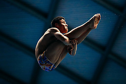 Jordan Houlden from City of Sheffield Diving Club competes in the Mens 3m Springboard - Mandatory byline: Rogan Thomson/JMP - 11/06/2016 - DIVING - Ponds Forge - Sheffield, England - British Diving Championships 2016 Day 2.
