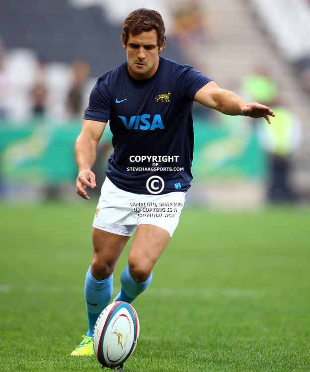 Nelspruit, SOUTH AFRICA, 20 August, 2016 - Nicolas Sanchez of Argentina during the match between South Africa and Argentina in The Rugby Championship at the Mbombela Stadium, Nelspruit (Photo by Steve Haag UAR)