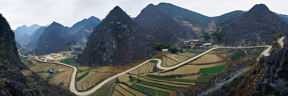 Vietnam Images-panoramic landscape-nature-Dong van-Ha Giang