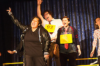 """The Hyde Park Community Players performed the comedy musical, """"The 25th Annual Putnam County Spelling Bee"""" this weekend at the University Church located at 57th and Greenwood.<br /> <br /> 2030 – Shonte Wesson as Ms. Michaela M. Mahoney<br /> <br /> Please 'Like' """"Spencer Bibbs Photography"""" on Facebook.<br /> <br /> All rights to this photo are owned by Spencer Bibbs of Spencer Bibbs Photography and may only be used in any way shape or form, whole or in part with written permission by the owner of the photo, Spencer Bibbs.<br /> <br /> For all of your photography needs, please contact Spencer Bibbs at 773-895-4744. I can also be reached in the following ways:<br /> <br /> Website – www.spbdigitalconcepts.photoshelter.com<br /> <br /> Text - Text """"Spencer Bibbs"""" to 72727<br /> <br /> Email – spencerbibbsphotography@yahoo.com"""