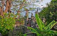 An old temple on the ocean in Amed, Bali, Indonesia