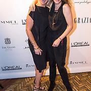 NLD/Amsterdam/20130923 - Grazia Red Carpet Awards 2013, Maud Burgers en vriendin