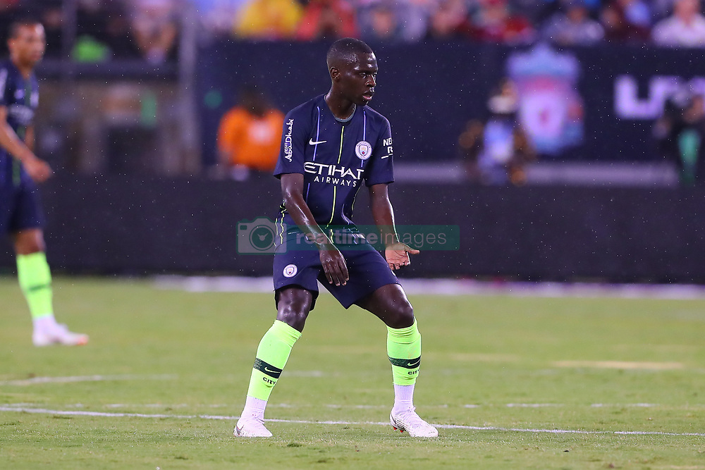 July 25, 2018 - East Rutherford, NJ, U.S. - EAST RUTHERFORD, NJ - JULY 25:  Manchester City midfielder Claudio Gomes (81) during the second half of the International Champions Cup Soccer game between Liverpool and Manchester City on July 25, 2018 at Met Life Stadium in East Rutherford, NJ.  (Photo by Rich Graessle/Icon Sportswire) (Credit Image: © Rich Graessle/Icon SMI via ZUMA Press)