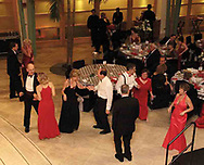 Dancing to the music of Fifth Avenue at the 2007 Wellness Connection Red Dress Gala, at the Schuster Performing Arts Center in Dayton, Saturday night, May 5th.