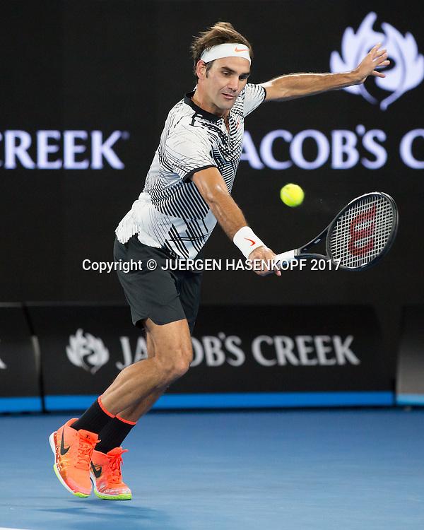 ROGER FEDERER (SUI)<br /> <br /> Australian Open 2017 -  Melbourne  Park - Melbourne - Victoria - Australia  - 26/01/2017.