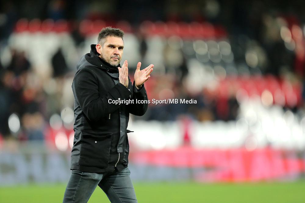 Jocelyn GOURVENNEC - 10.01.2015 - Guingamp / Lens - 20eme journee de Ligue 1<br />Photo : Vincent Michel / Icon Sport