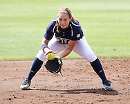 FIU Softball Vs. Tulsa during the FAU Invitational on February 24, 2012.  The Golden Panthers fell to Tulsa 4-1.