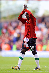 DUBLIN, REPUBLIC OF IRELAND - Saturday, August 5, 2017: Liverpool's Sadio Mane after a preseason friendly match between Athletic Club Bilbao and Liverpool at the Aviva Stadium. (Pic by David Rawcliffe/Propaganda)