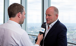 Bristol Rugby's Director of Rugby, Andy Robinson  is interviewed at the Aviva Premiership fixture launch - Mandatory by-line: Robbie Stephenson/JMP - 07/07/2016 - RUGBY - BT Tower - London, United Kingdom  - Aviva Premiership Fixture Launch