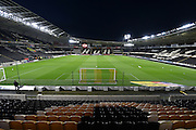 Hull City KC Stadium before the Sky Bet Championship match between Hull City and Ipswich Town at the KC Stadium, Kingston upon Hull, England on 20 October 2015. Photo by Ian Lyall.