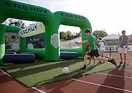 August 2, 2016: OKC Energy FC plays Sacramento Republic FC in a USL game at Taft Stadium in Oklahoma City, Oklahoma.